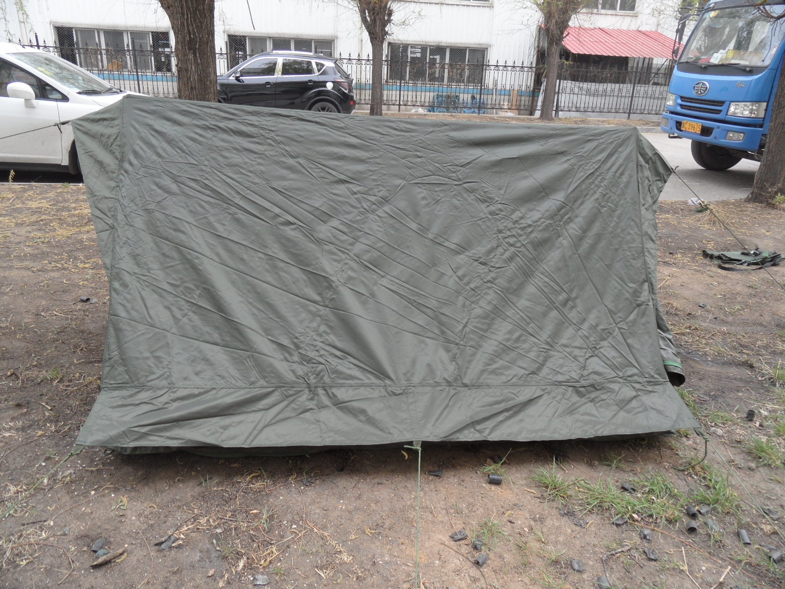 Uganda Army Olive Green Military Camping Tent