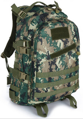 Army Camouflage Backpack