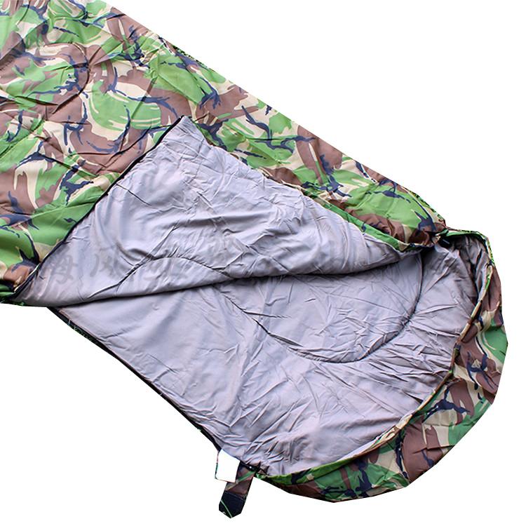 Army Woodland Camouflage Sleeping Bag