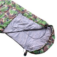 Army Woodland Camouflage Sleeping Bag