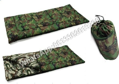 Military Woodland Camouflage Sleeping Bag