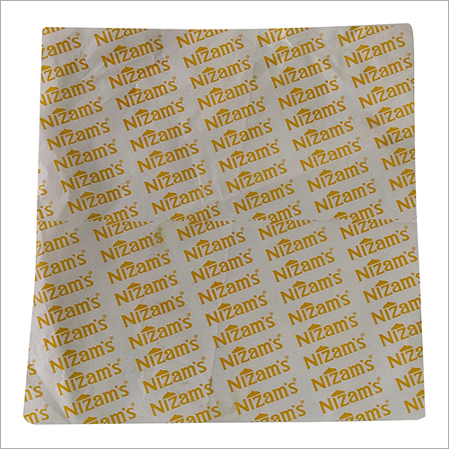 Burger Wrapping Paper
