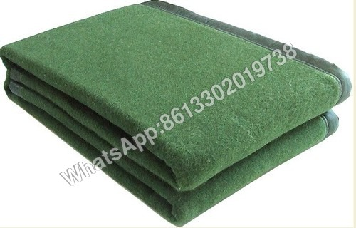 Military Wool Poly Acrylic Blanket