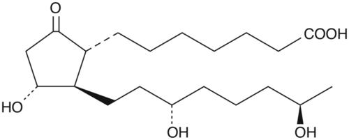 13,14-dihydro-19(R)-hydroxy Prostaglandin E1