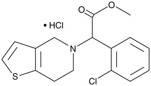 ( ±)-Clopidogrel (hydrochloride)