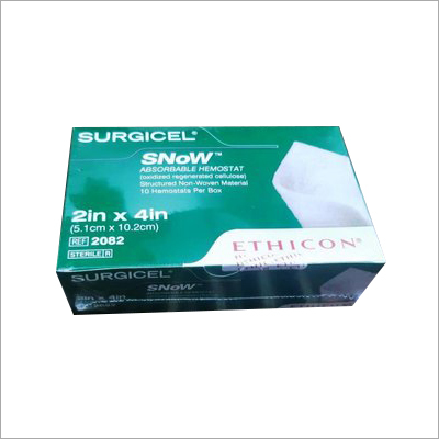 Surgical Snow Absorbable Hemostat 10.2 CM