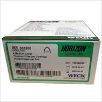 Weck Horizon Ligating Clips Titanium Clips