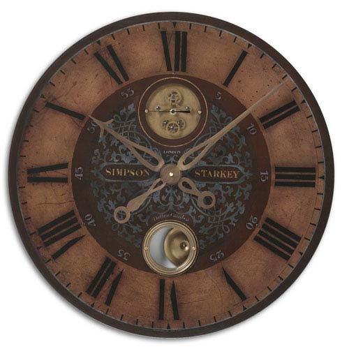 Starkey Brass Clock