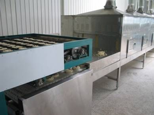 Tunnel Conveyor Microwave Drying Sterilization Machine For Noodles