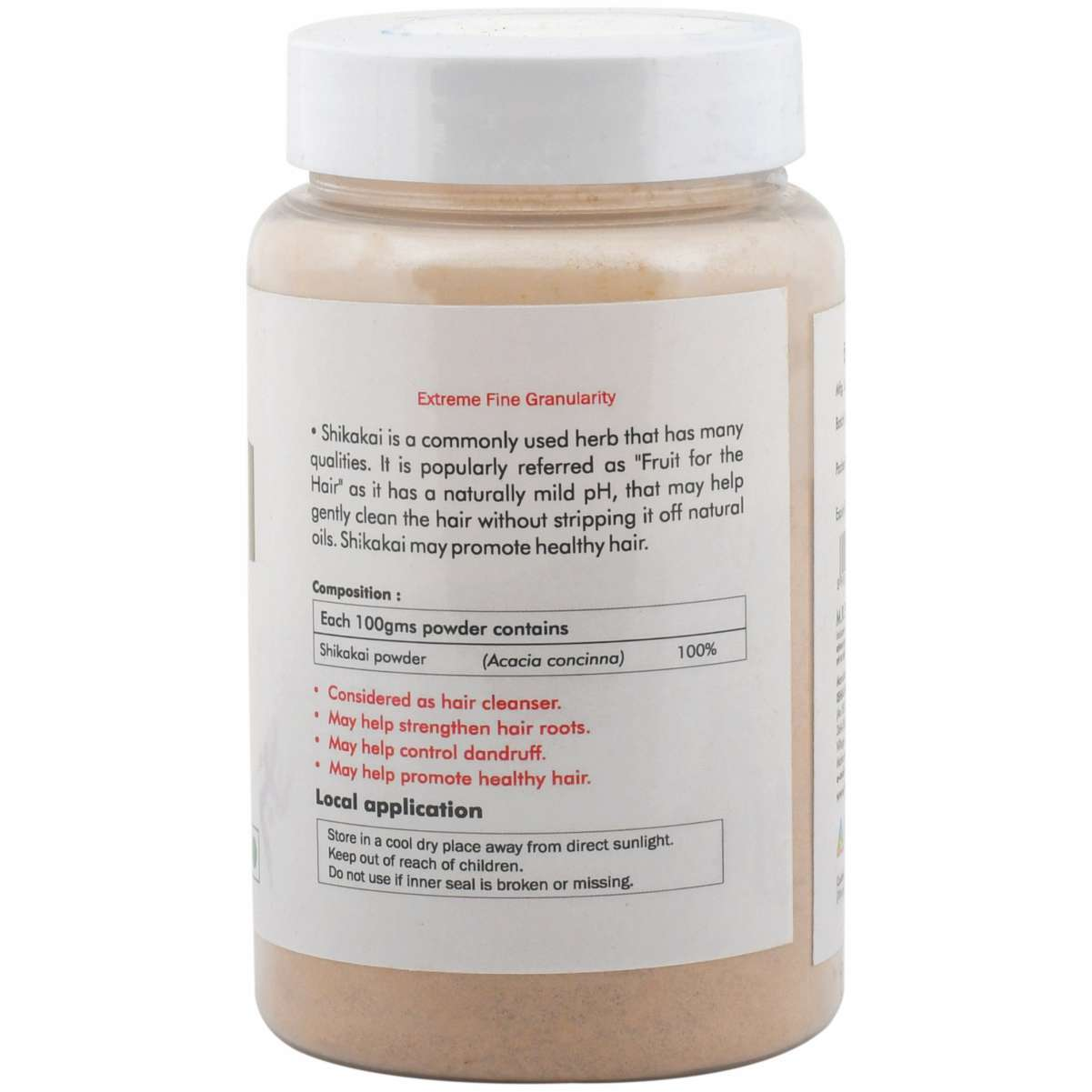Ayurvedic Shikakai Powder For Healthy Hair