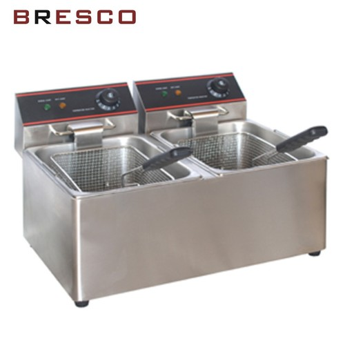 Double Deep Fat Fryer