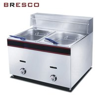6 Ltr Gas Double Fryer