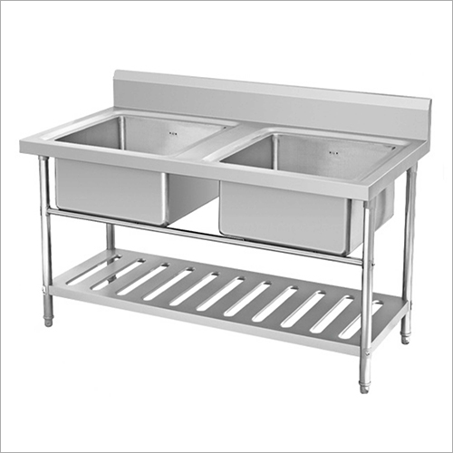 Stainless Steel Kitchen Double Sink