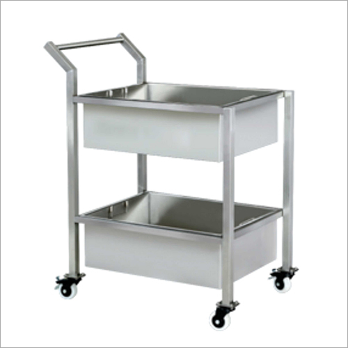 SS Kitchen Trolley