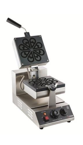 Rotating Waffle Maker Flower Shape