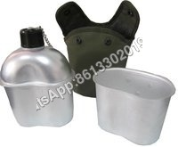 Military Aluminum Water Bottle With Cover