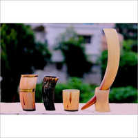 Horn Mug And Opener