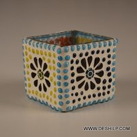 Squire Small Mosaic Candle Votive