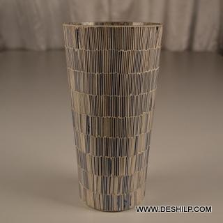 Bangle Mosaic Table Flower Vase