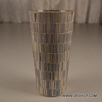 Bangle Mosaic Table Flower Vase