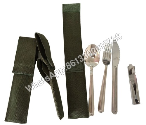 Military Food Knife and Fork
