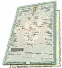 State Registration Certificate