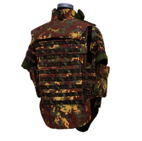 NIJ IIIA Italy Army Camouflage Full Protection Ballistic Jacket
