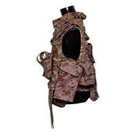 NIJ IIIA Digital Desert Camouflage Full Protection Bulletproof Jacket