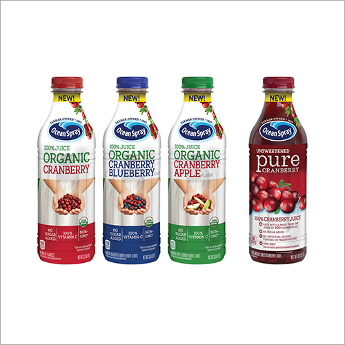 Juice PVC Shrink Label