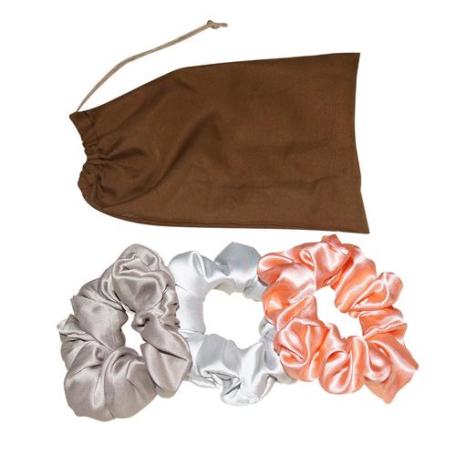 Scrunchies made in Pure Mulberry Silk