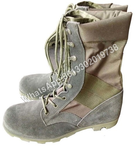 Army Green Color Military DMS Jungle Boot
