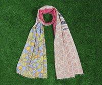 Kantha Cotton  Printed Scarves