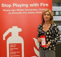Declaration of fire safety
