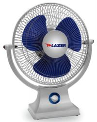 LAZER All Purpose Personal Fan 225 mm