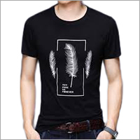 Men Round Neck T Shirt