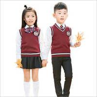 Kids School Sleeveless Sweater