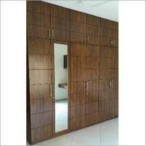 Wall Mounted Wooden Almirah