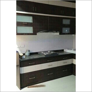 Hard Wood Modular Kitchen