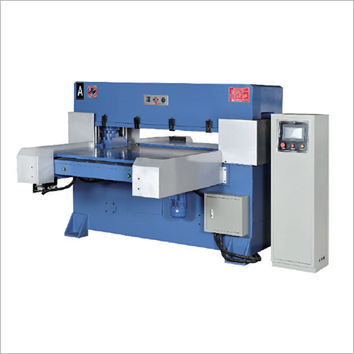 Precision Double And Single Side Automatic Feeding Four Column Oil Press Cutting Machine