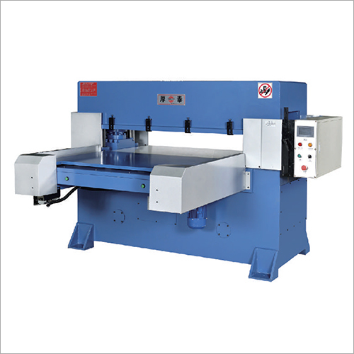 Precision Single And Bilateral Automatic Feed Four Column Hydraulic Cutting Machine