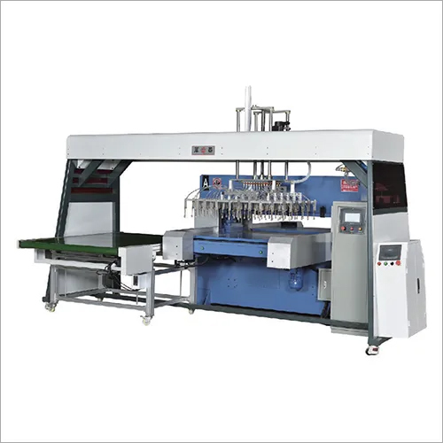 Precision Automatic Segmented Feed Oil Press Cutter Machine