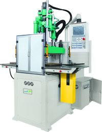 double sliding vertical plastic injection moulding machine