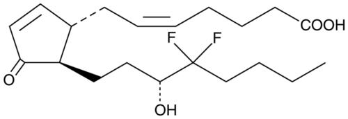 13,14-dihydro-16,16-difluoro Prostaglandin J2