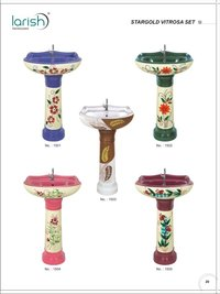 DESIGNER PEDESTAL WASH BASINS