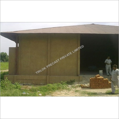 Concrete Industrial Shed