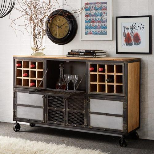 Iron Bar Storage