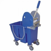 Single Bucket Mop Wringer Trolley