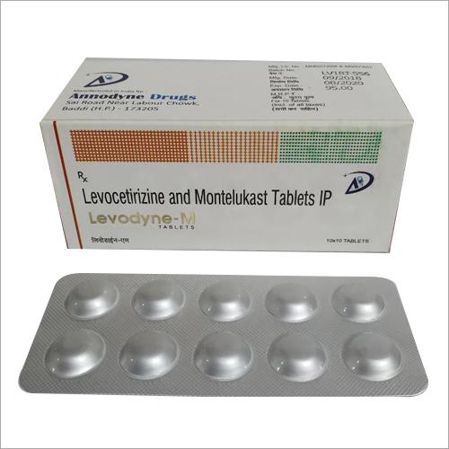 Levocetirizine Montelukast Tablets IP