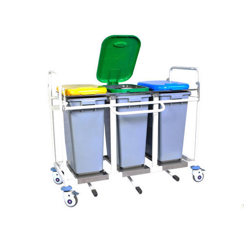 Triple Bucket Trolley