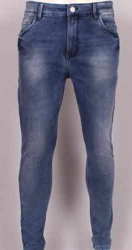 Dobby Fake Knitted Denim Jeans